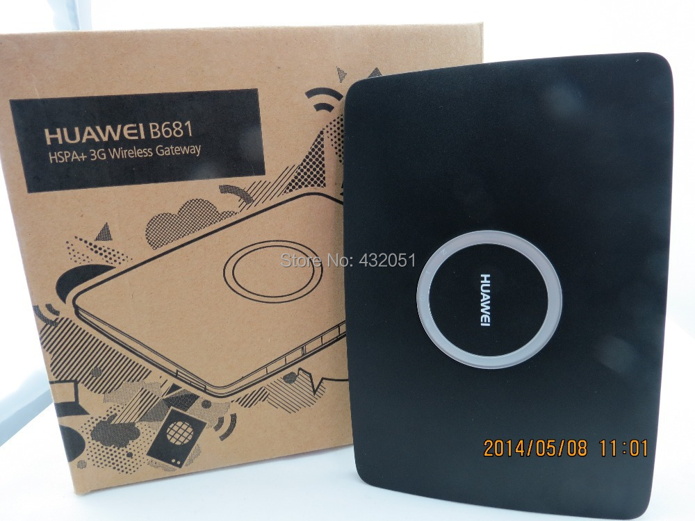 HUAWEI B681  3G Wireless Router vodafone huawei hg556a adsl2 3g wireless voip router