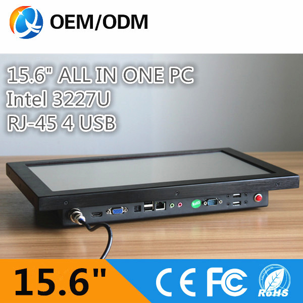 15.6 inch industrial pc panel industrial touch screen pc with intel i3 cpu all in one pc resolution 1366x768 14 inch oem touch screen all in one pc industrial embedded computer 8g ram 512g ssd 1tb hdd with intel celeron 1037u 1 8ghz cpu