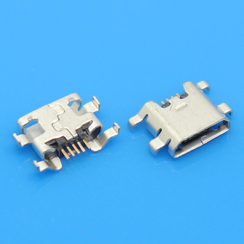 cltgxdd 50PCS/LOT For ZTE Blade L2 micro usb charge charging connector plug dock socket port