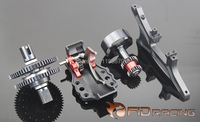 FIDRacing A key to reverse gear system for Losi 5ive T