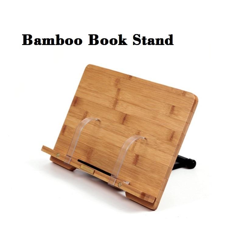 Bookends de leitura log moldura de Material : Bamboo