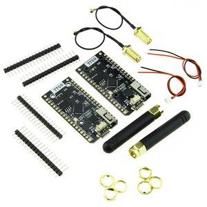 Image 4 - LILYGO®2 pièces TTGO LORA32 V1.0 868/915MHz ESP32 LoRa OLED 0.96 pouces affichage Bluetooth WIFI ESP 32 Module de carte de développement