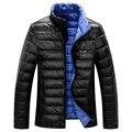 Alta calidad! 90% de pato blanco abajo chaquetas de Los Hombres 2016 de invierno nueva moda abrigos, abrigo, ropa exterior, parka, fosa M-XXXL