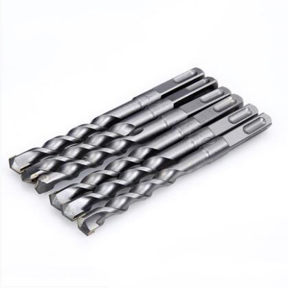 200mm Long SDS Plus Hammer Twist Drill Bits Square Shank Masonary Concrete 6mm 8mm 10mm 12mm 14mm 16mm 18mm 20mm 22mm 1set 50mm sds plus shank concrete cement stone wall hole saw drill bit with 200mm connecting rod wrench