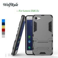 Phone Case Lenovo ZUK Z2 Cover WolfRule Silicone & Slim Plastic Anti-knock Case sFor Lenovo ZUK Z2 Case Holder Stand Zuk Z2