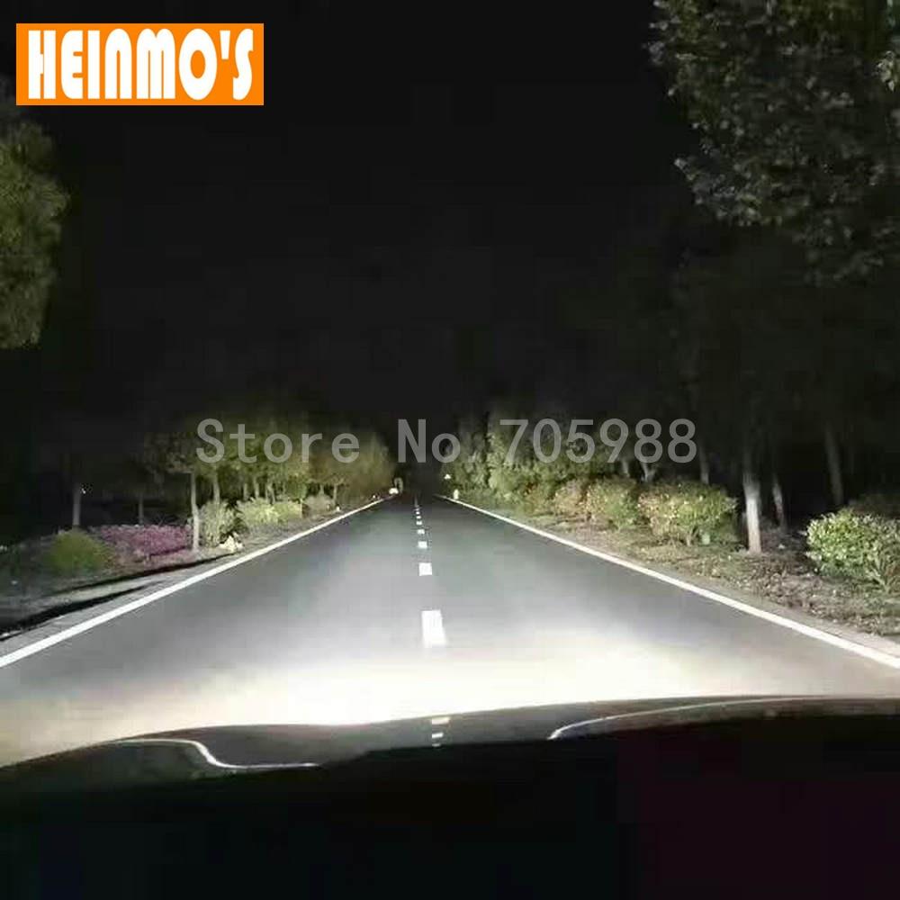 72W 7600LM COB LED H7 Bilstrålkastare Allt i ett H8 H9 9005 HB3 9006 - Bilbelysning - Foto 6