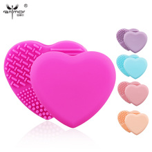 Lovely Brushegg for Cleaning makeup brushes Hot Silicone Cleaning Tools