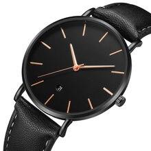 10fa2772d84c Reloj Los Hombres Minimalista - Compra lotes baratos de Reloj Los ...