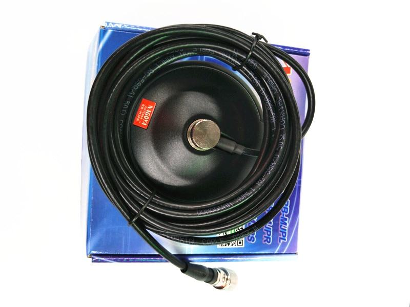 imágenes para Nagoya rb-mjpr de techo de montaje magnético base w/4 m cable de antena de coche móvil