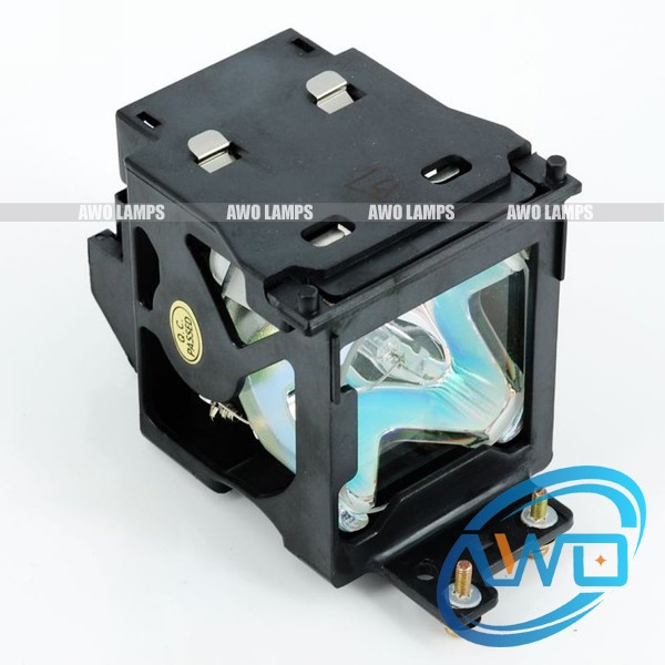 цена на Free shipping ET-LAE100 Compatible lamp with housing for PANASONIC PT-LAE100,PT-AE200E,PT-AE300,PT-L300U;PT-L200U Projectors