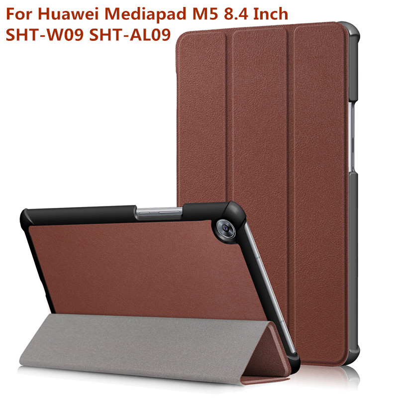 Funda Case for Huawei Mediapad M5 8.4 Inch SHT-W09 SHT-AL09 Tablet Ultra Slim Premium Cover Case +gift футболка wearcraft premium slim fit printio акула