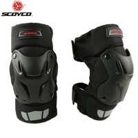 Scoyco 自動車レース PP シェル膝パッド保護ギアオフロードバイクモトクロスアウトドアスポーツ安全プロテクター K15-2