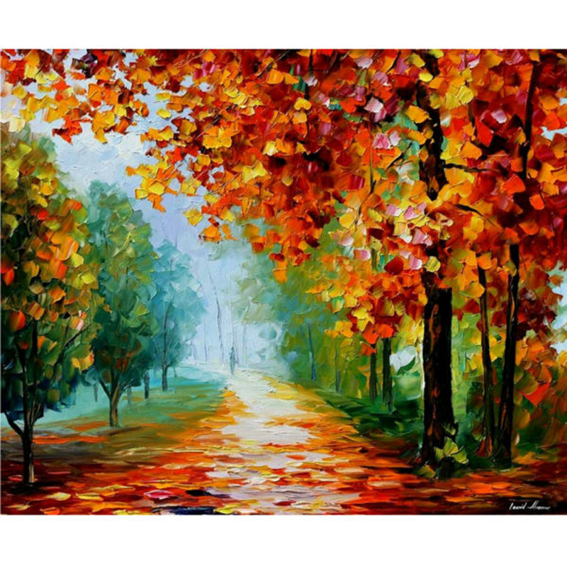 Large Modern Hand Painted Abstract Oil Painting On Canvas