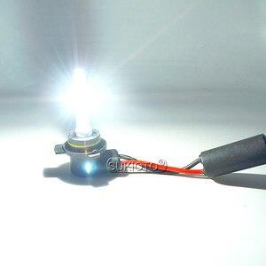 Image 5 - SUKIOTO Car Headlight 9012 HIR2 Xenon CANBUS Kit 55W H1R2 9012 6000K hi/lo bixenon Projector bulbs NO Error Edge HID Headlamp