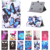 Universal PU leather case Cover for Alcatel ONETOUCH ONE TOUCH 1T 7