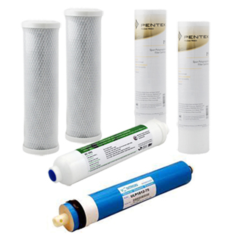 RO Replacement Filters for 75 gpd Water Filter System