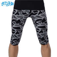 Panegy Men Quick Dry Athletic Short Pants Compression Fitness Base Layer Skin Sports Running Tights Trousers