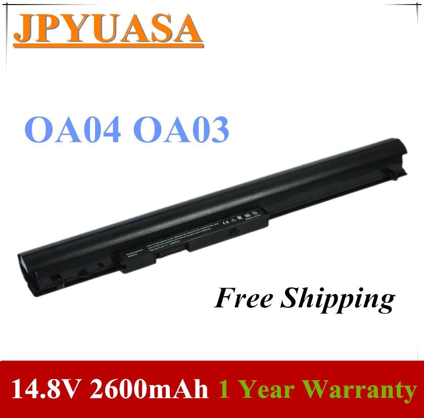 7XINbox 14.8V 2600mAh OA04 OA03 Laptop Battery For HP 240 G2 G3 CQ14 CQ15 740715-001 746458-421 746641-001 HSTNN-LB5S HSTNN-IB5S(China)