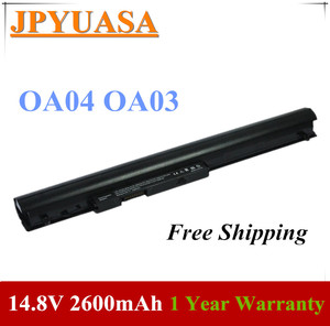 JPYUASA 14,8 V 2600 мА/ч, OA04 OA03 Аккумулятор для ноутбука hp 240 G2 G3 CQ14 CQ15 740715-001 746458-421 746641-001 аккумулятор большой емкости HSTNN-LB5S HSTNN-IB5S