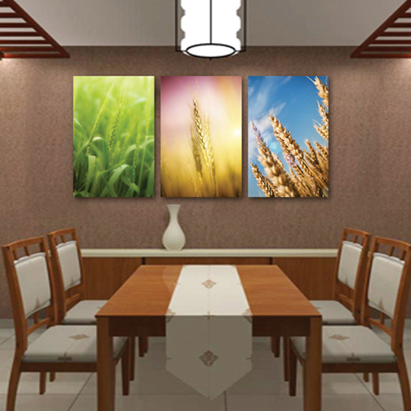 Dinning kitchen room decorative pictures 3 pieces three for Colores para pintar