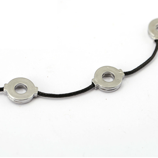 Akatsuki Titanium Steel 3 Loops Necklace