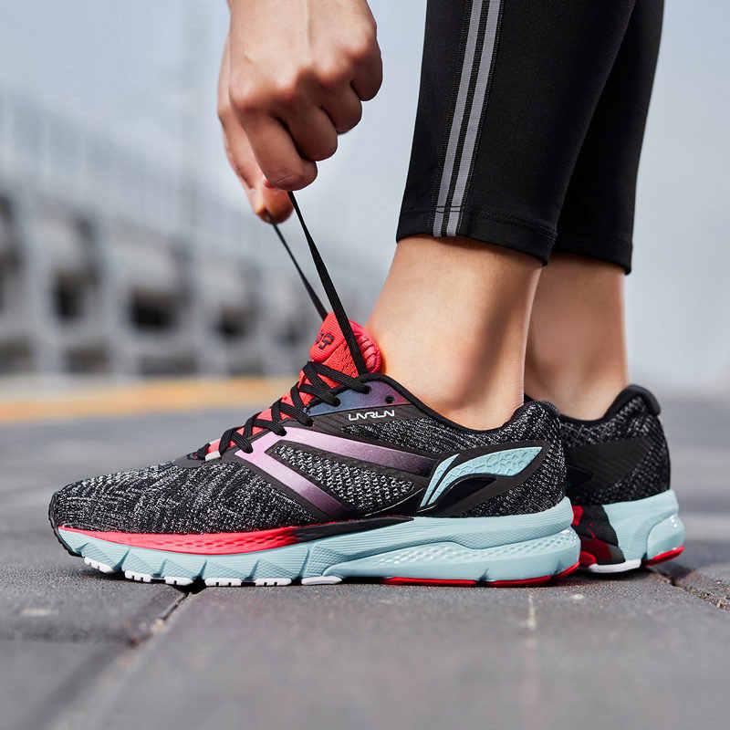 76228efc Li-Ning/Женская обувь для бега с подушкой в виде яростного всадника,  устойчивая