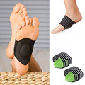Foot Arch Support Plantar Fasciitis Heel Pain Aid Foot Run-up Pad Feet Cushioned Cushioned Shoes Insole Sports Accessory hot