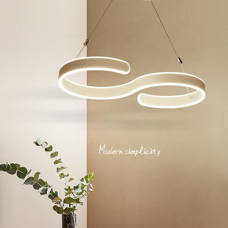 LICAN Modern LED Pendant Lights For Dining Living Room Hanging Circel Rings Acrylic suspension luminaire Pendant Lamp Lighting modern led pendant light 3 rings circles hanging lights for living dining room suspended pendant lamp luminaire modern lighting