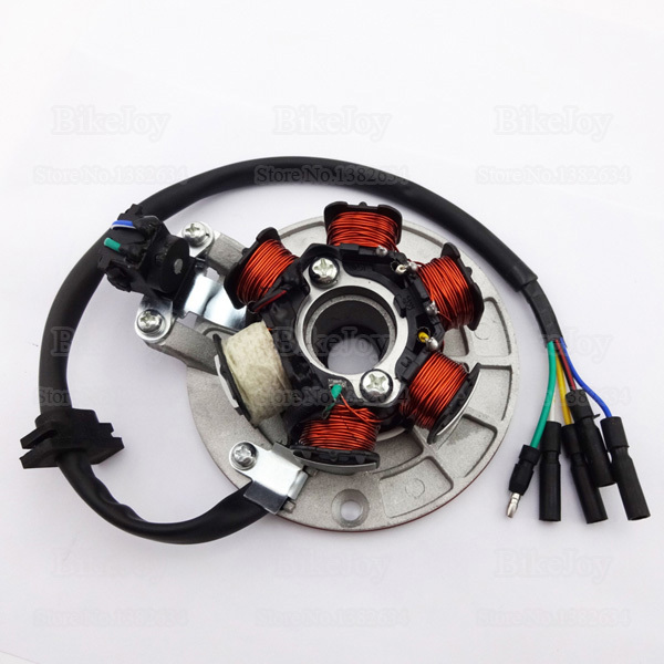Aliexpress.com  Buy YX140 Magneto Stator Kit with Light Wiring for YX 140cc Pit Dirt Bike PitsterPro Stomp Thumpstar SDG GPX SSR Motorcycle from Reliable ... : pit bike stator wiring - yogabreezes.com