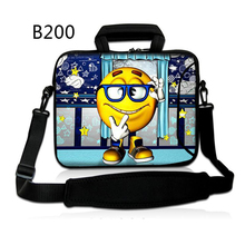 "Smile Face Laptop computer Shoulder Bag Purse Case Briefcase Messenger for Dell Inspiron 13 / 14 / 15 13.three"" 14"" 15.6""15″ 17″ 17.three PC"