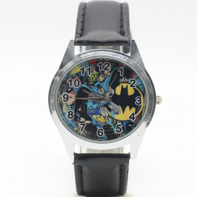 2017 Marvel Fashion batman Watch Wrist Child gift watch