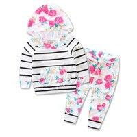 Kids Clothes 2017 Spring Autumn Baby Boys Girls Cartoon Minnie Cotton Set Children Clothing Sets Child