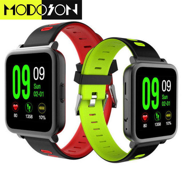 8b852078089 MODOSON N10 Monitor de Freqüência Cardíaca Smartwatch Bluetooth Relógio  Inteligente Para Samsung Huawei Xiaomi ios Apple