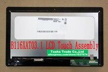 B116XAT03.1 1366*768 Dla Acer Aspire P3-171 Matrix P3 171 LCD Ekran Dotykowy Digitizer Zgromadzenia
