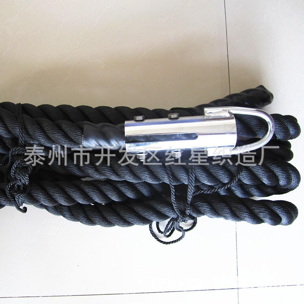 de Força Muscular Treinamento Treino de Cordas Com ferro Ilhó A9226