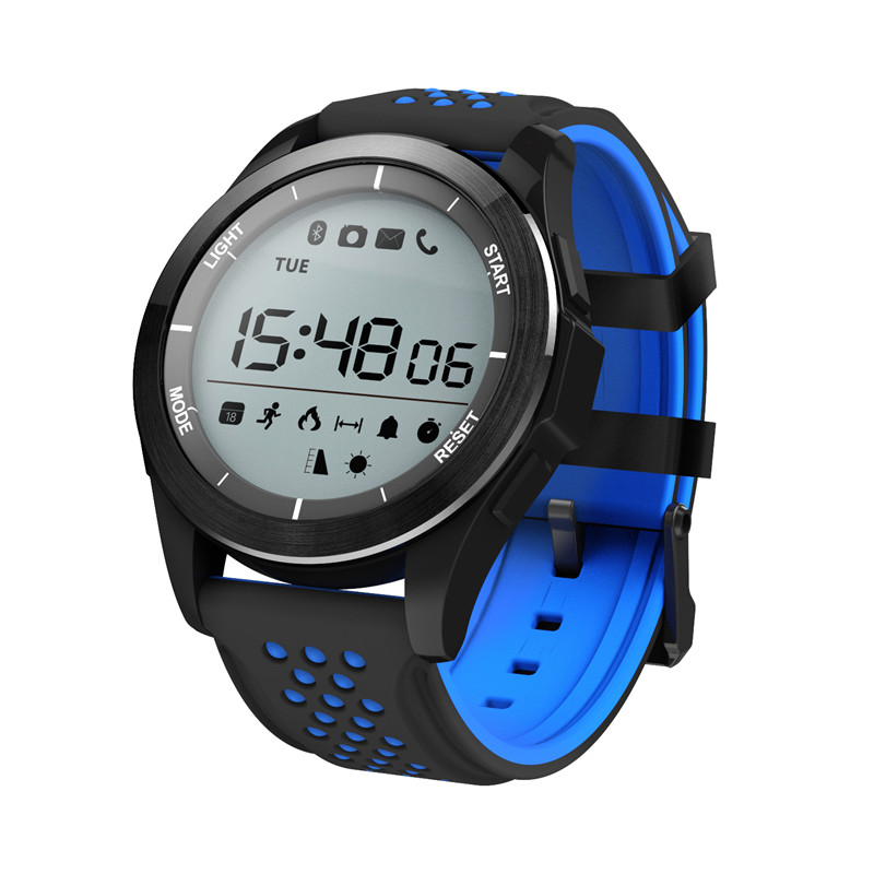 Sleep Monitor Fitness Pedometer Bluetooth Calling Digital Pedometer Message Reminder Cycling Watch for IOS Android F3 SmartWatch