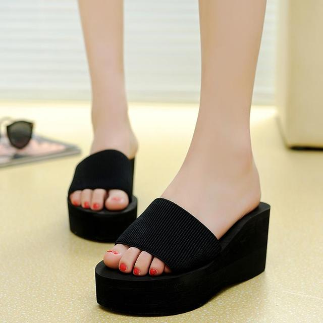 3f12f0b2a3c2d4 Thick-soled sandals in the summer women s platform Sandals wedge sandals