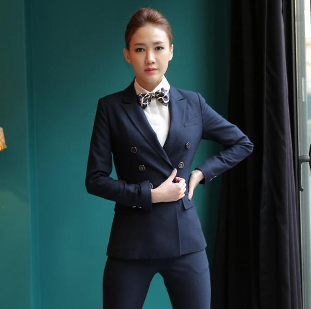 Lady suit fashion generous hot sale haute couture women business ...