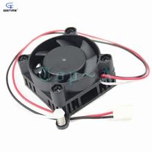 Gdstime Heat Sink Northbridge Cooler With 40mm x 10mm 12V 3 Pin Cooling Fan For 3D Printer