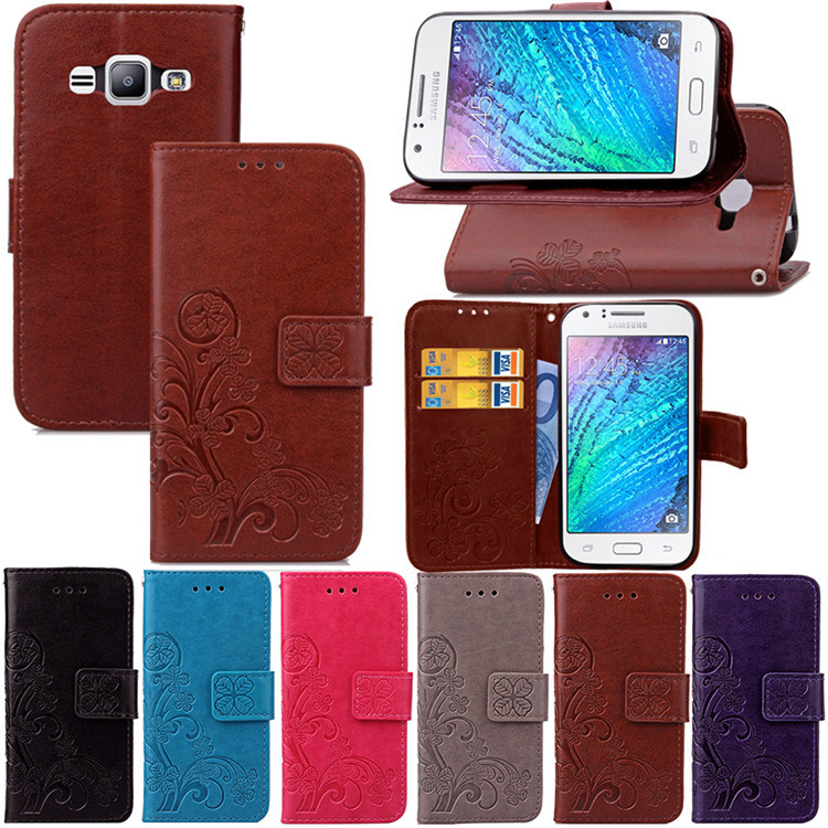 Wallet PU Leather Case for <font><b>Samsung</b></font> <font><b>Galaxy</b></font> J1 <font><b>J100</b></font> J100F SM-J100f Bag Card Holder Phone Bag Luxury Flip Cover for <font><b>Samsung</b></font> J1 <font><b>2015</b></font> image
