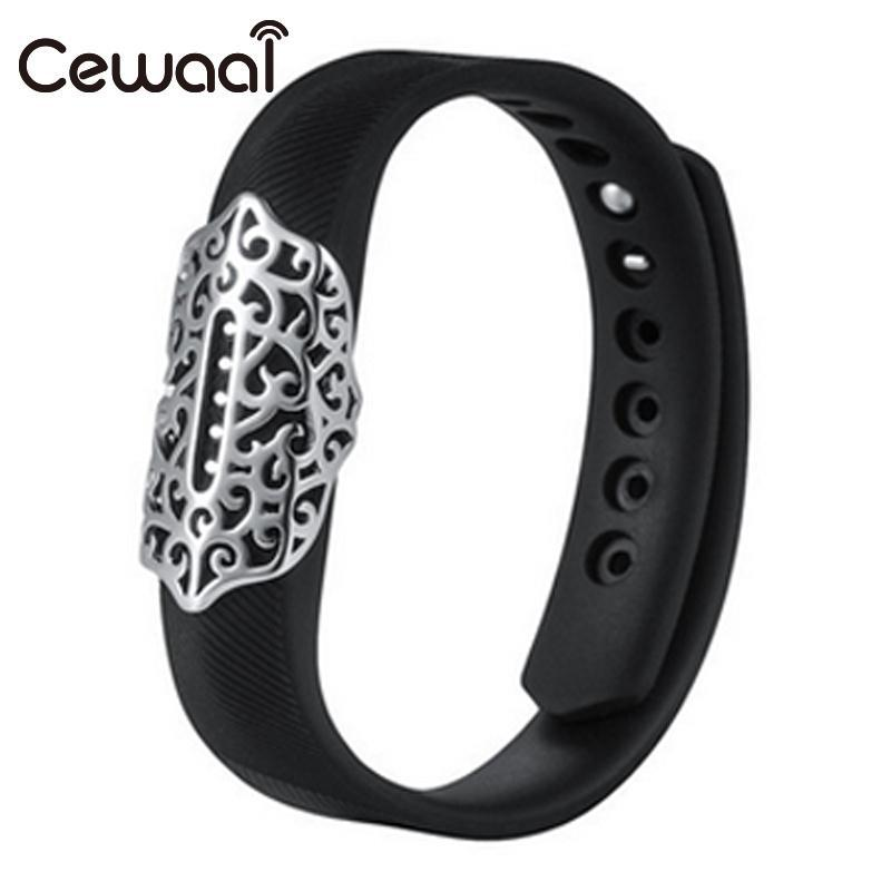 Cewaal Metal Bracelet Band Holder Case For Fitbit Flex2 Watch Sports Wristband Ornament