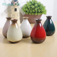 Ceramic Crafts Gifts Vase Bottle Creative Home Interior Decoration For Wedding Table Holiday Party DIY Supplies