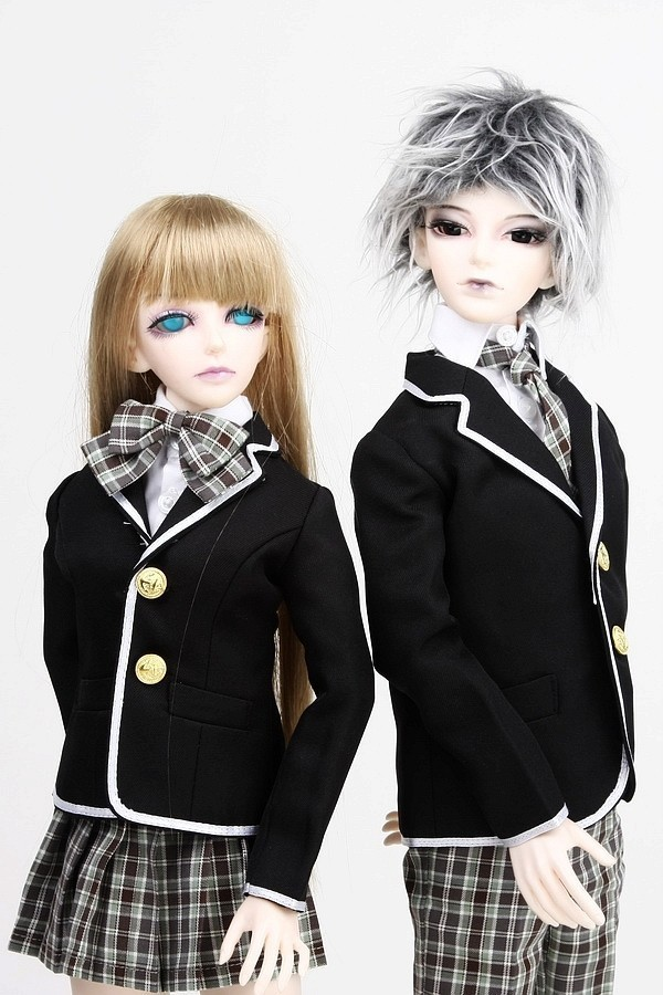 [wamami] 300# Boy School Uniform/Suit/Outfit 1/4 MSD BJD Dollfie seitokai no ichizon cosplay school boy uniform h008