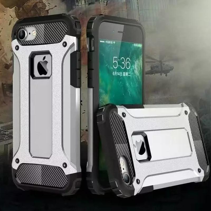 Pro iPhone 7 Pouzdro Luxusní Hybrid Shock Proof Armor Telefon Pouzdra pro iPhone 6 6s Plus 5s Celotělový ochranný kryt mobilního telefonu