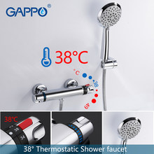 GAPPO Bathtub faucet bathroom mixer bath shower taps rainfall shower waterfall thermostatic shower faucets(China)