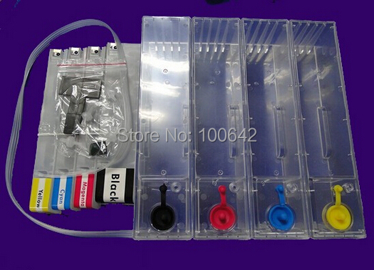 YOTAT 1000 ML מחסנית דיו ריקה CISS עבור HP970 HP971 Pro X451dn X451dw X476dn X476dw X551dw X576dw מדפסת עם קבוע שבב