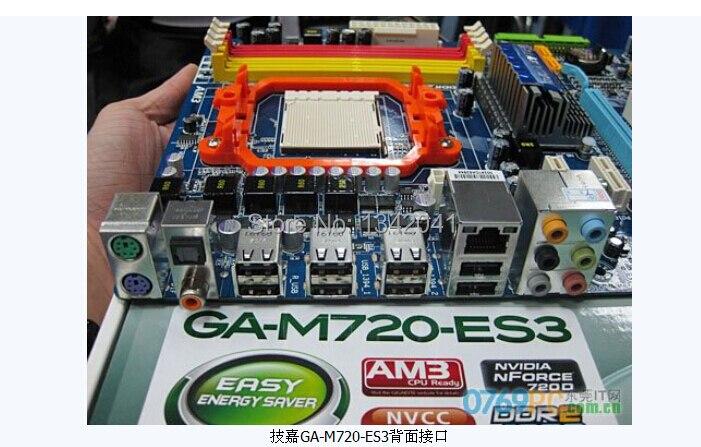 Gigabyte GA-M720-ES3 Nvidia Chipset 64Bit