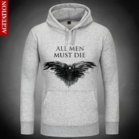 Game Of Thrones Dark Hints Death Hoodies Hoody Pullover Sweatshirt Sweatshirts Outerwear Clothes Coat Three Eyed