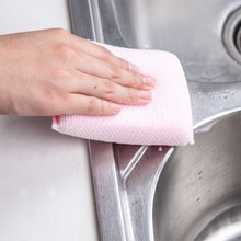 BF050 Color double side cleaning sponge brush 13.5*9cm free shipping