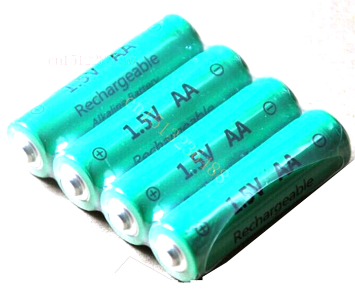 Rechargeable Alkaline Batteries >> 4pcs Lot Aa 3000mah Znmn 1 5v Aa Rechargeable Alkaline